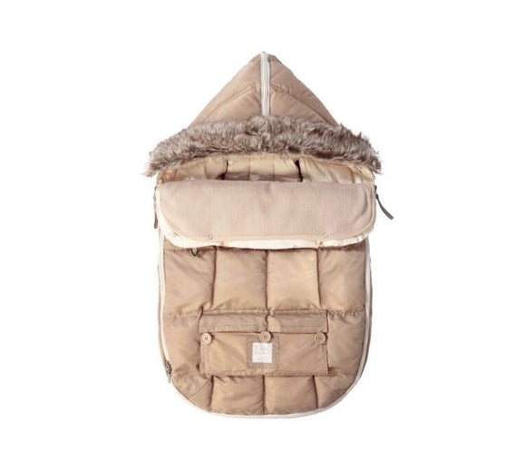 7 AM LE SAC IGLOO Small Beige Baby Bunting