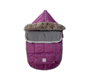 7 AM LE SAC IGLOO Small Grape Baby Bunting