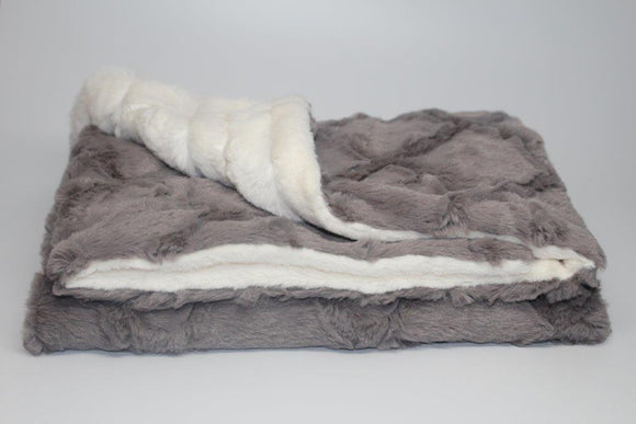 Zandino Jacob Grey Blanket