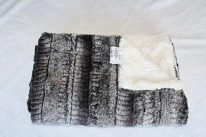 Zandino Zoe Black and Ivory Blanket