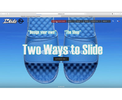 "Two Ways to Slide: ""Design Your Own"" and ""the Shop"""
