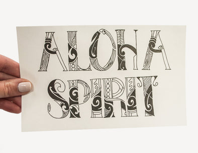 I Slide For #2: Tori // Aloha Spirit