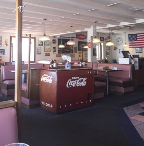 Rarely will you find 50's Diner ever empty!