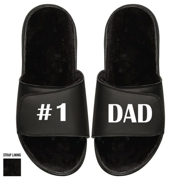 #1 Dad Black Fur