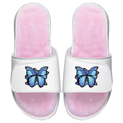 Blue Butterfly Pink Fur