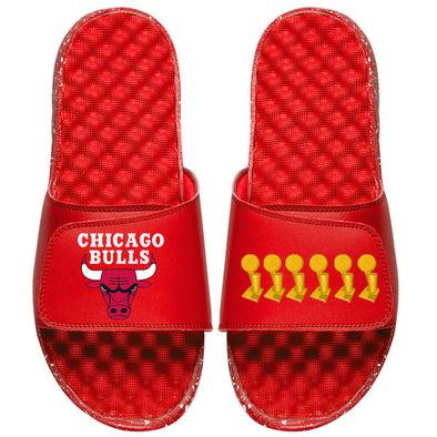 Chicago Bulls Trophies Red - ISlide Custom Slides