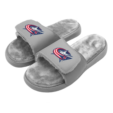 Columbus Blue Jackets Primary Grey Fur