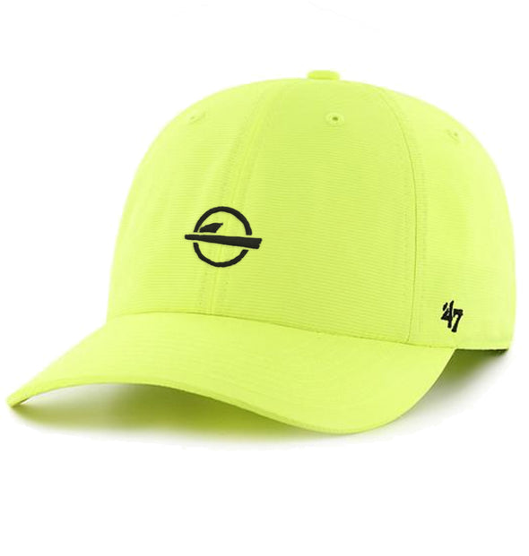 "ISlide ""Dad"" Hat Neon Yellow"