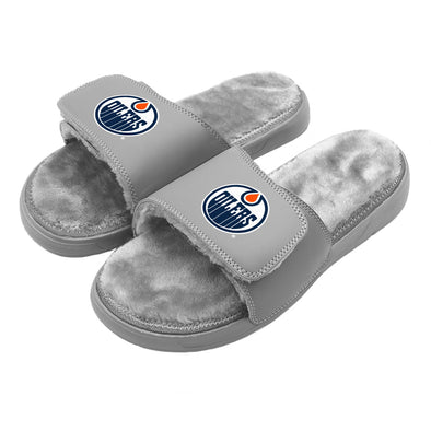 Edmonton Oilers Primary Grey Fur