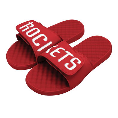 NBA Houston Rockets Custom Slide Sandals