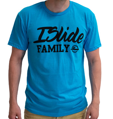 ISlide Family T-Shirt Turquoise