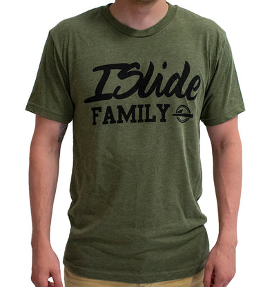 ISlide Family T-Shirt Army Green
