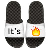 It's Lit Emoji Custom Slide Sandals - ISlide