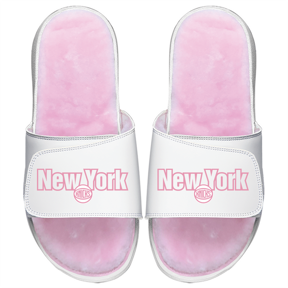 New York Knicks Pink Pop Fur