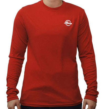 The Mantra Long Sleeve T-Shirt Red