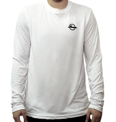 The Mantra Long Sleeve T-Shirt White
