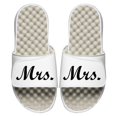 Mrs. Bride Wedding Custom Slide Sandals - ISlide