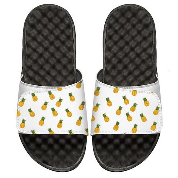 Pineapple Pattern Custom Slide Sandals