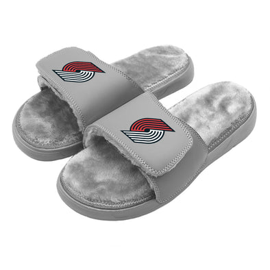 Portland Trail Blazers Primary Grey Fur