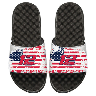 Ryan Blaney American Flag