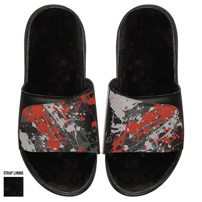 Splatter Paint Black Fur