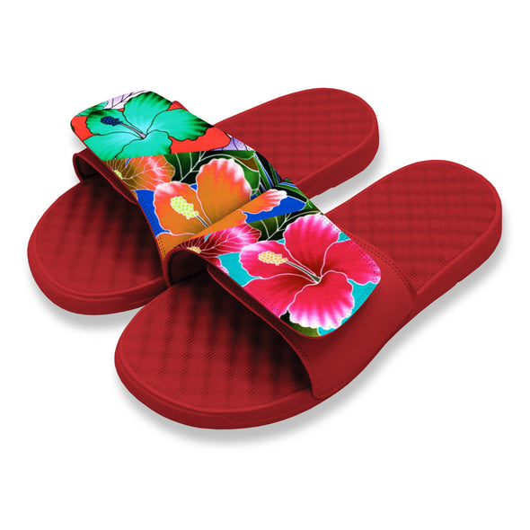 Triple Floral - ISlide Custom Slides