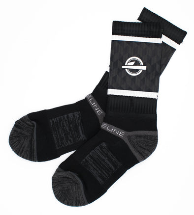 ISlide Black Socks - ISlide