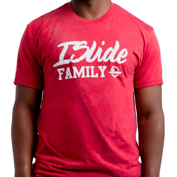 ISlide Family T-Shirt Red