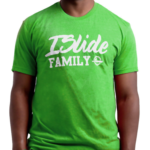 ISlide Family T-Shirt Green
