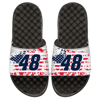 Jimmie Johnson 48 American Flag