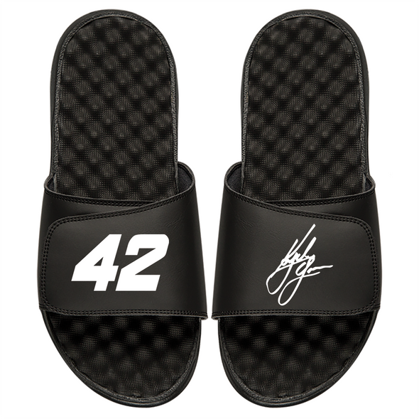 Kyle Larson Number and Signature Split