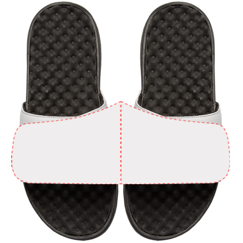 Your Customized ISlide Sandal~White - ISlide