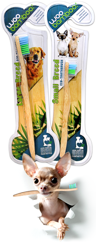 Pet Toothbrushes WooBamboo!
