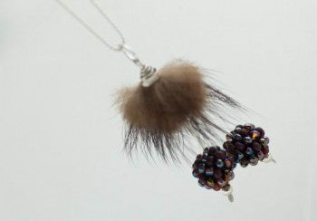 Black Cherries necklace