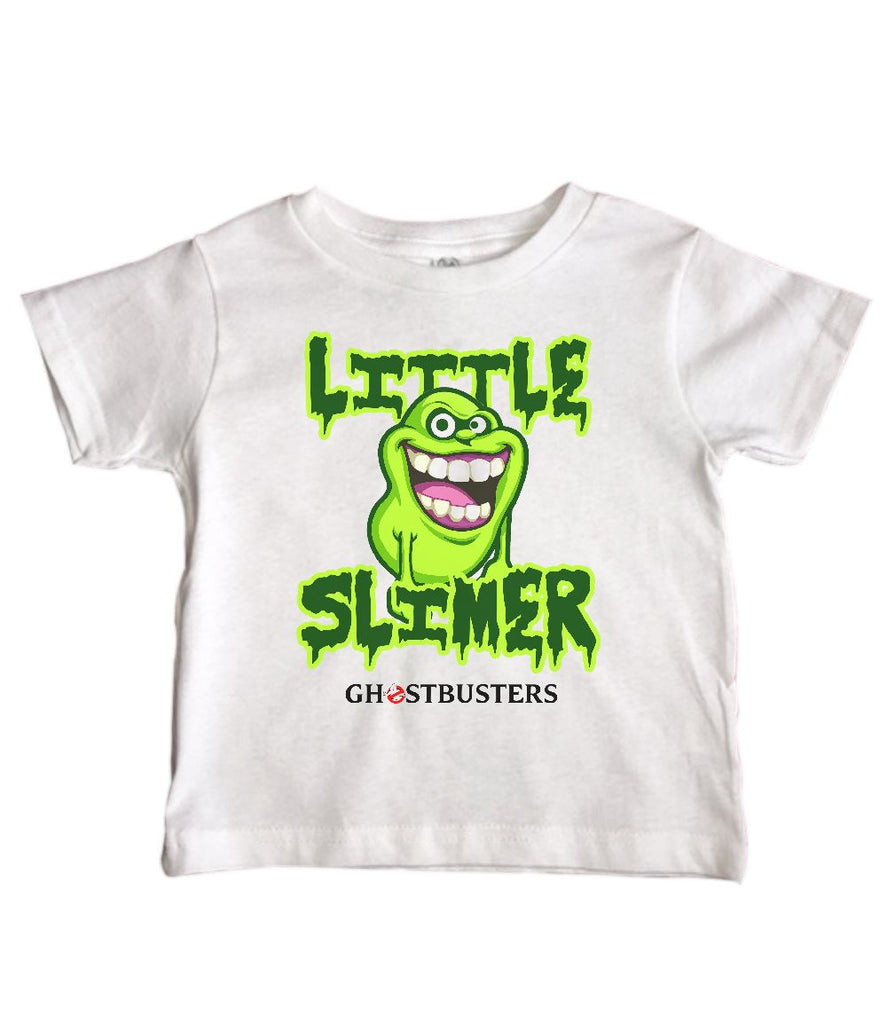 f3437d9c5 LITTLE SLIMER GHOSTBUSTERS - Funny Kids Shirts – Little Royaltee
