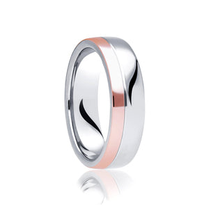 Offcentre Two Tone Ring