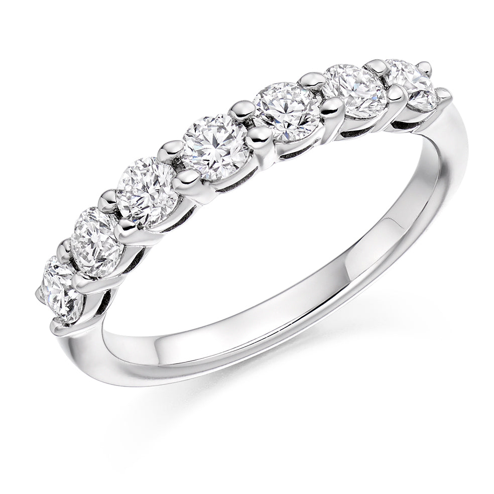 Claw Set Round Diamond Ring
