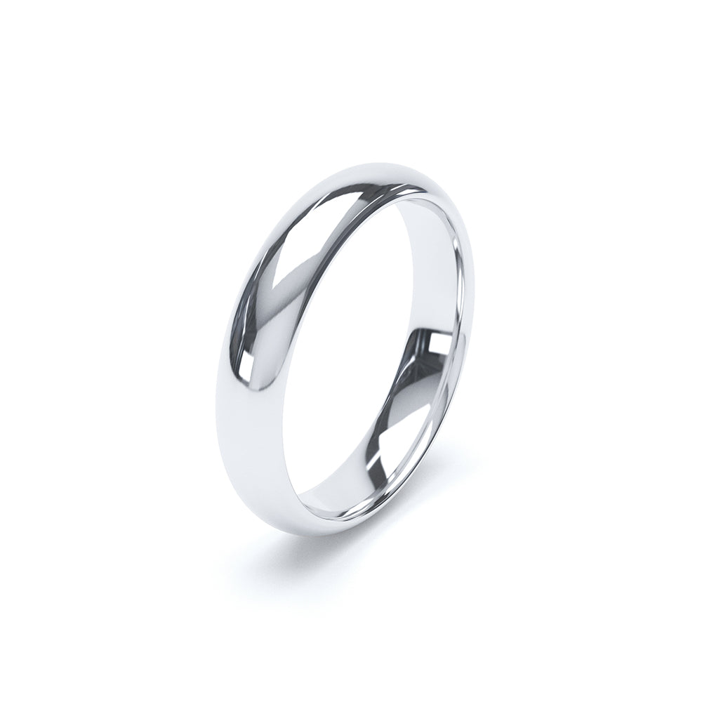 BLC Soft Court Wedding Ring