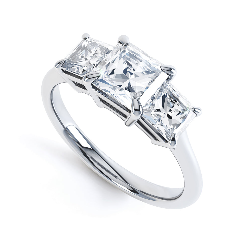 Verbena Trilogy Engagement Ring