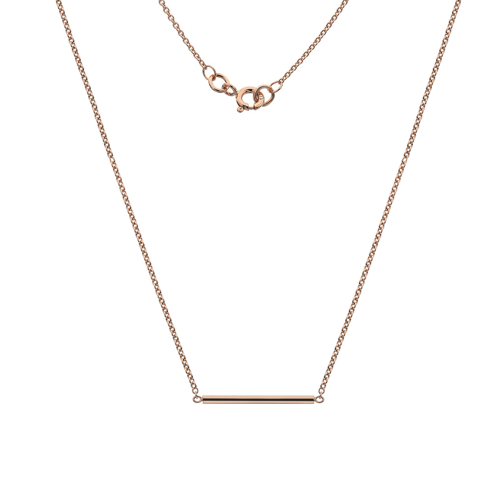Rounded Bar Necklace