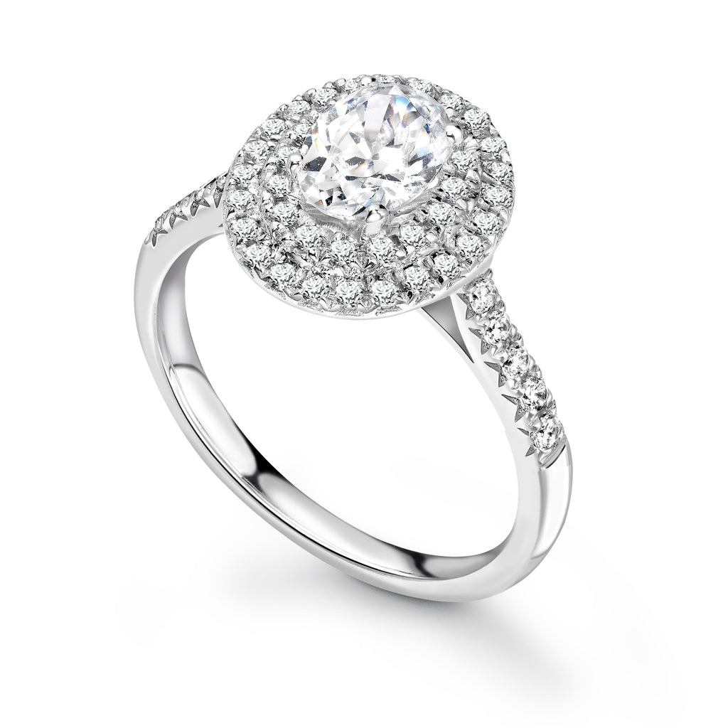 Clover Engagement Ring