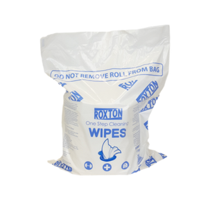 Roxton One Step Scent Free Sanitizing Wipes (2 x 1000 rolls)