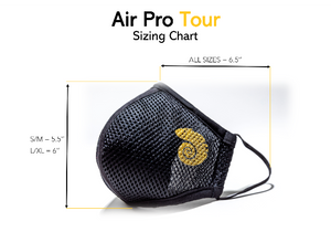 Custom Chameleon Air Pro Tour Mask with Changeable Filter