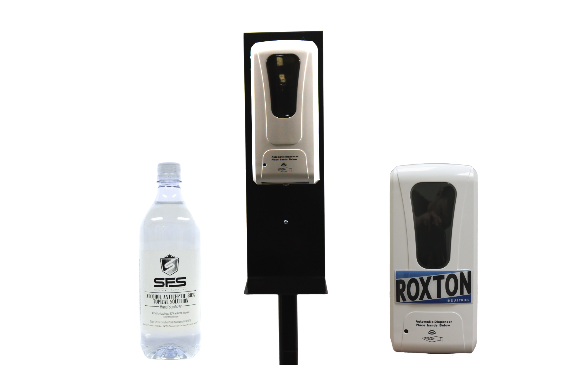 Automatic Hand Sanitizer Floor Standing Bundle