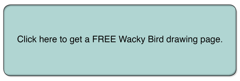 Wacky Bird Button