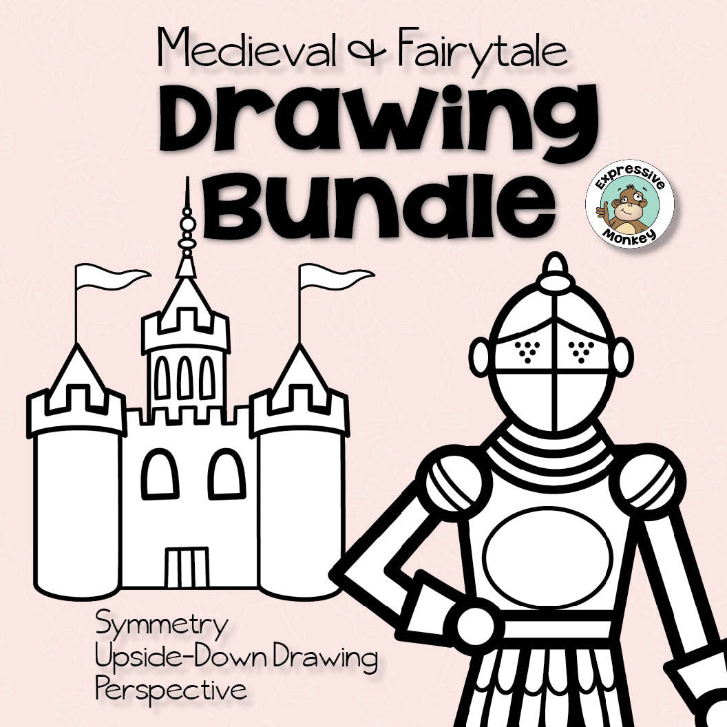 Medieval & Fairytale Drawing Bundle