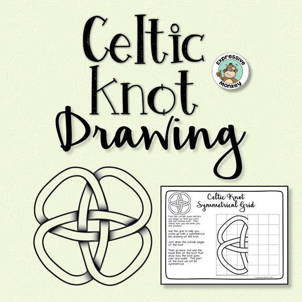 Celtic Knot Drawing using Symmetry and Grids