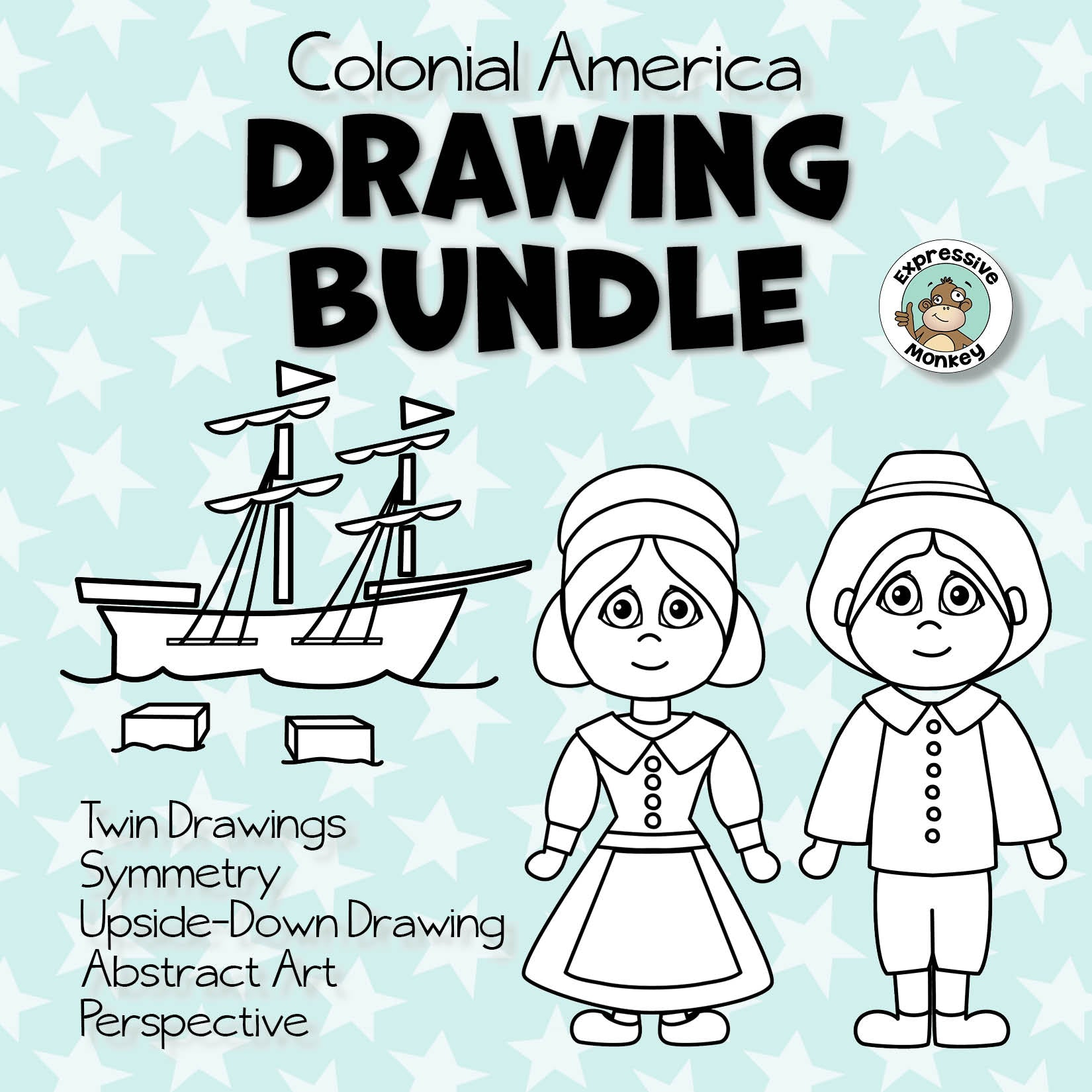 Drawing Bundle - Colonial America