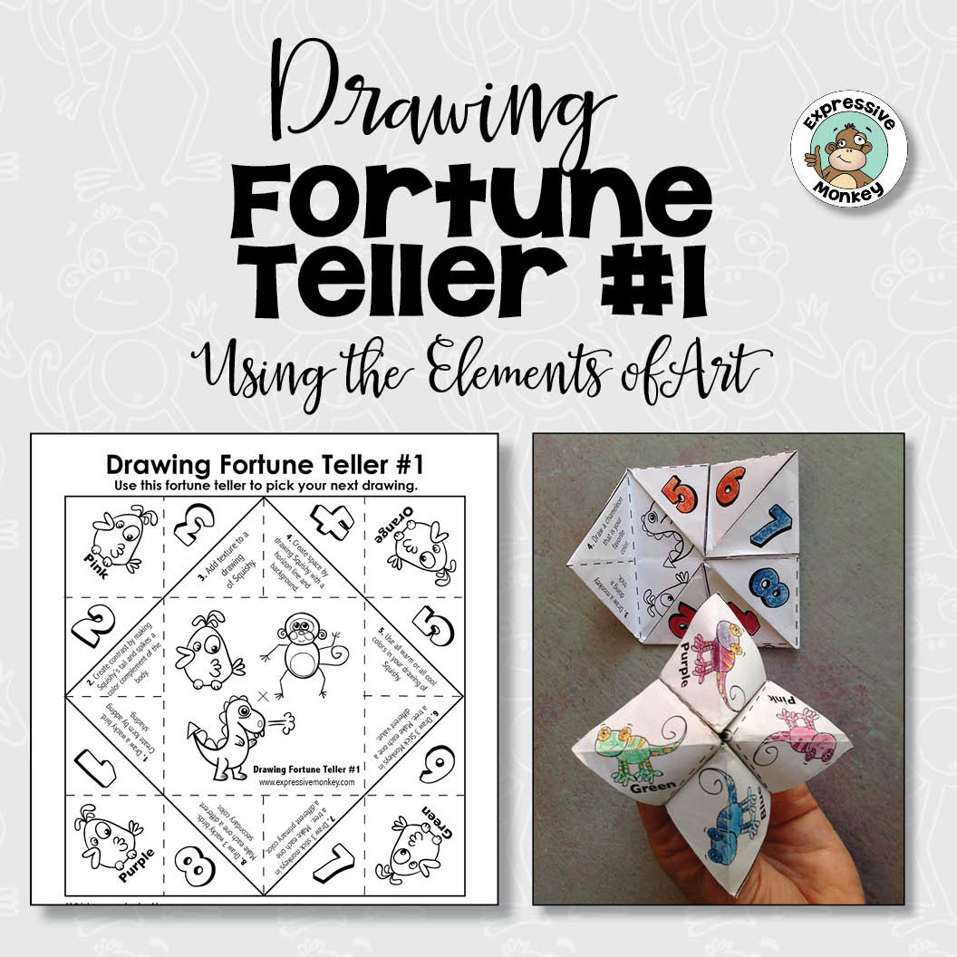 Drawing Fortune Teller