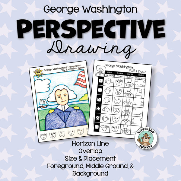 George Washington Perspective Drawing
